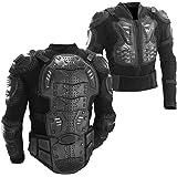 Ediors® Motorcycle Full Body Armor Protector Pro Street Motocross ATV Titan Sport Jacket Shirt (Large)
