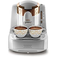 Arzum OK001w Okka turkisk kaffe maskin (White), aluminium, 1 liter, vit