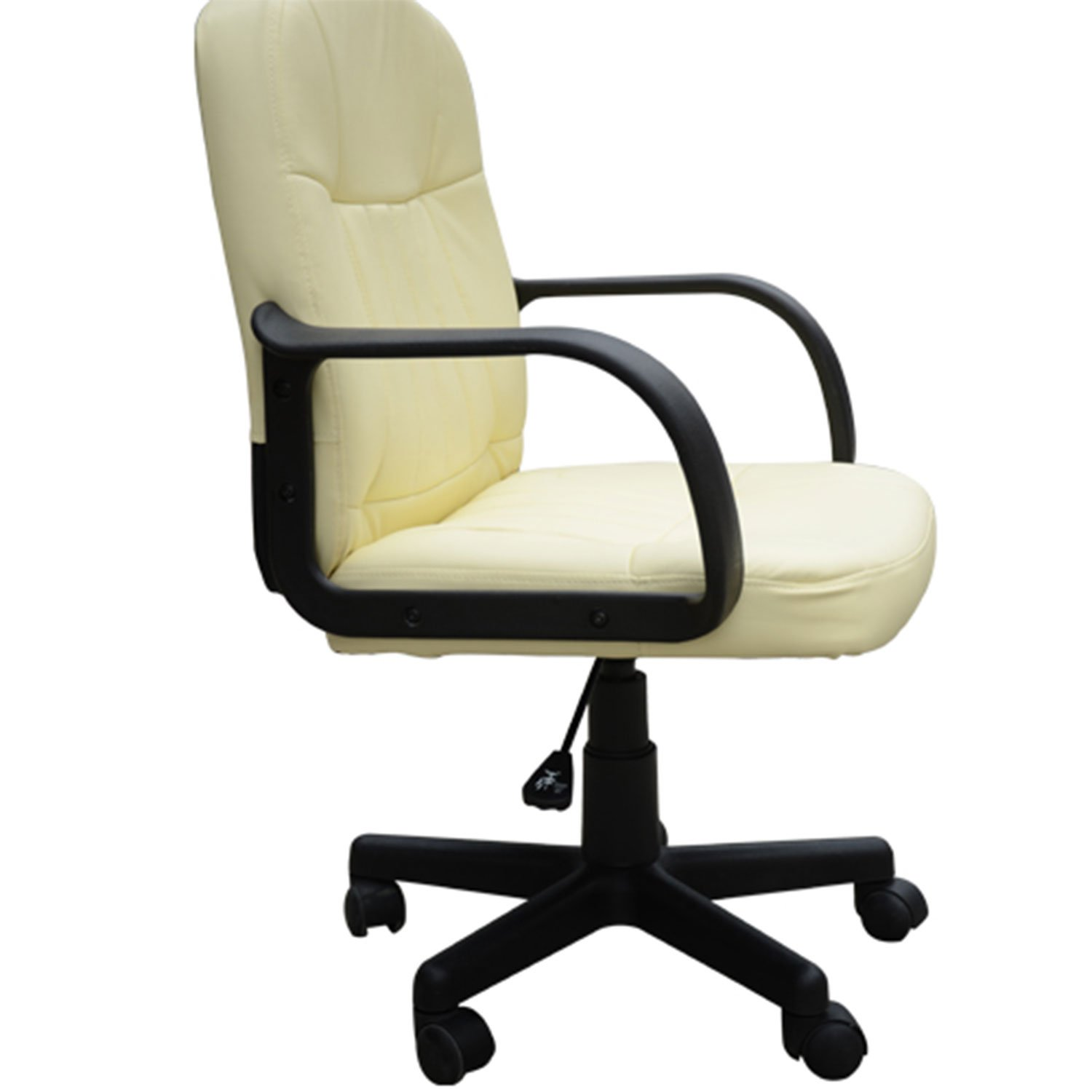 HOM Swivel Executive fice Chair PU Leather puter Desk