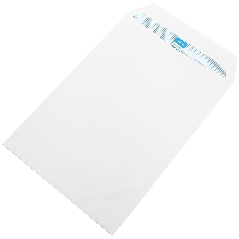 [Pack of 100] C5 Envelopes White Plain 90gsm Self Seal Home Office A5 Letter Envelope Pack ProdBuy-Limited