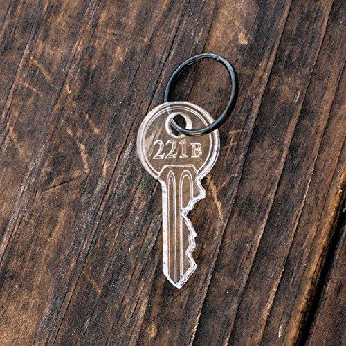 Keychain - 221b - ACRYLIC 2x1in