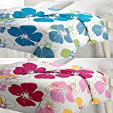 eCraftIndia Set of Floral Design Single Bed Reversible AC Blanket