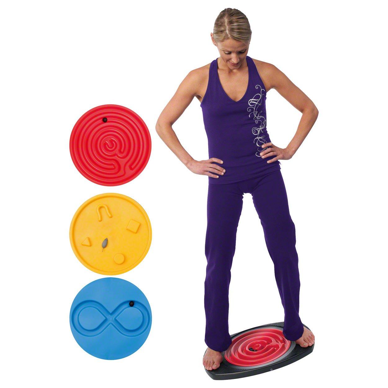 Balanco Bewegungsspiel, Therapiespiel, Bewegungstrainer, mit 3 Einsätzen