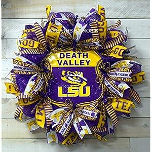 LSU Sports Wreath, LSU College Wreaths (2938-3) 25