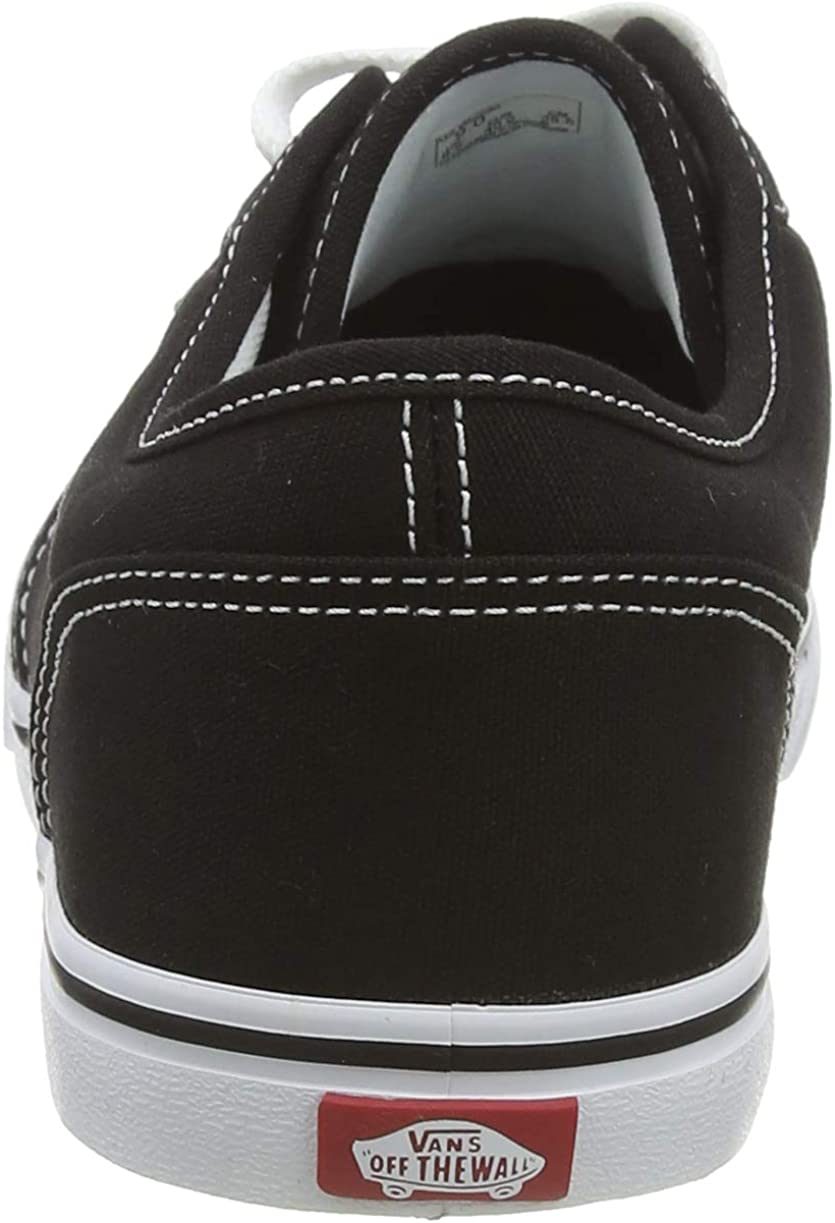 Vans Atwood Low Canvas, Montantes Mixte Adulte Noir Black White