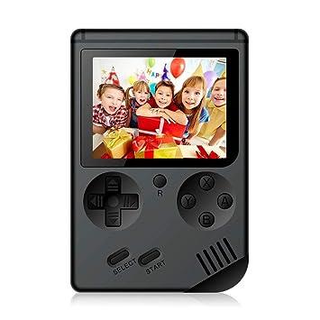 ACHICOO RETR/o FC MI/NI Game Machine 168Plus Double Person Version with Handle Black