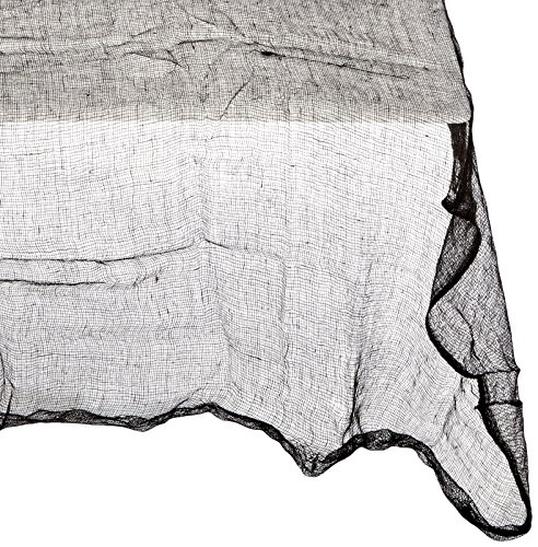 Black Cheesecloth Table Cover]()