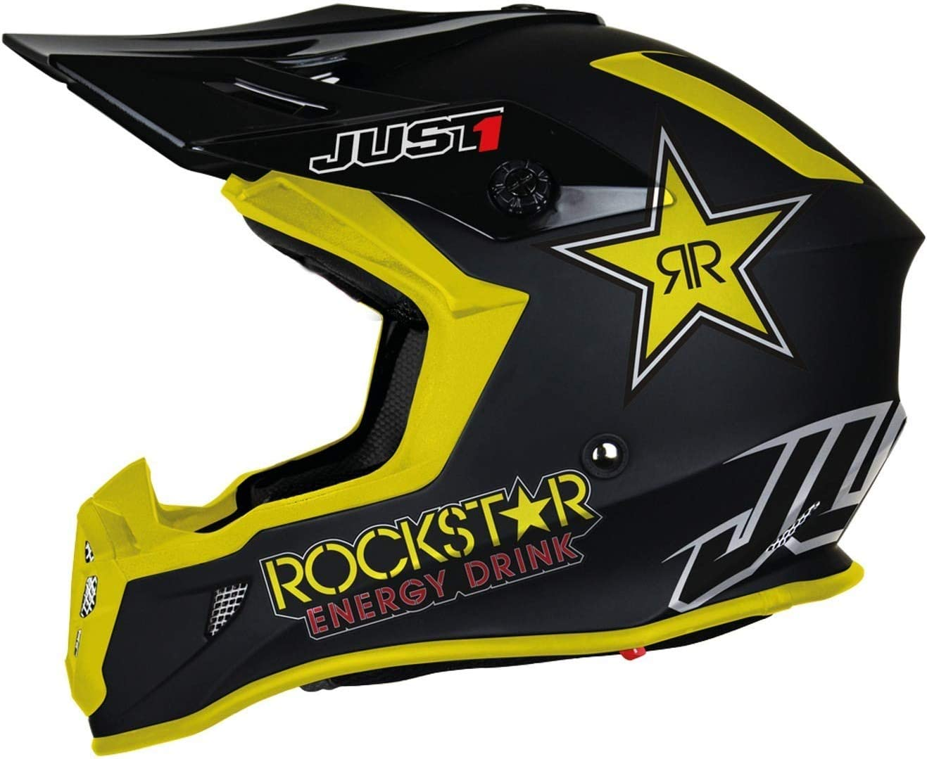 Just1 J38 Rockstar Casque de motocross