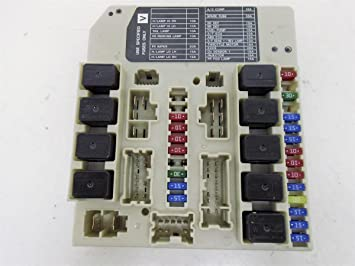 2008 2009 2010 Nissan Rogue Under HOOD Engine Fuse Relay Box unit  24381-C9900, Fuse Boxes - Amazon CanadaAmazon.ca