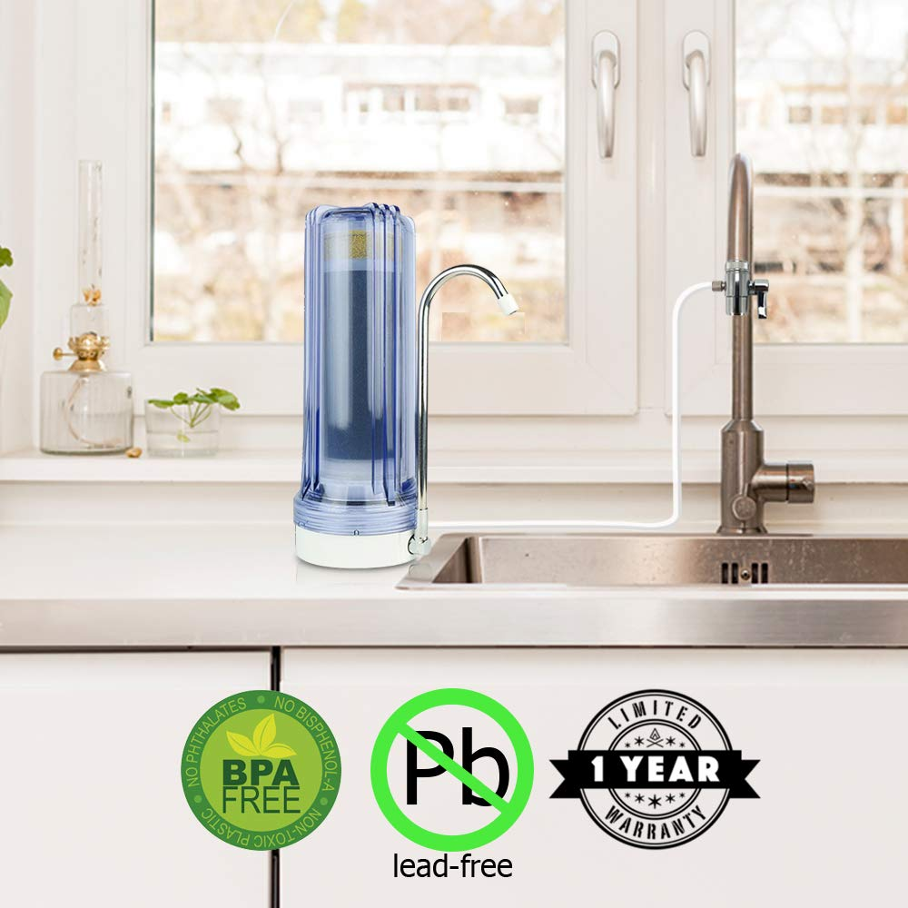 APEX MR-1030 Countertop Water Filter Apex Water Filters Clear