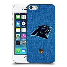 Official NFL Football Carolina Panthers Logo Hard Back Case for Apple iPhone 5 / 5s / SE