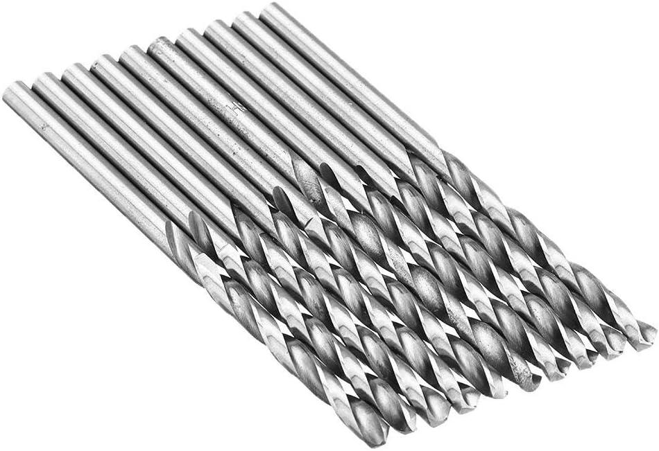 Size : 3.8mm Drill Bits Twist Drill Bits 2.2-4.0mm 10Pcs Drill Bit HSS High Speed Steel Straight Shank Twist Drill Bit for Hand Twist Drill