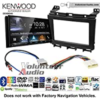 Volunteer Audio Kenwood DDX9904S Double Din Radio Install Kit with Apple CarPlay Android Auto Bluetooth Fits 2009-2016 Nissan Maxima