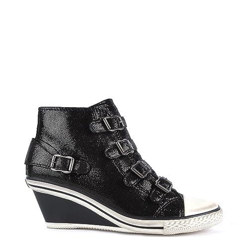 11c71e6d Ash Zapatos Genial Zapatillas de Cuna Negro Mujer 35 EU Negro: Amazon.es:  Zapatos y complementos