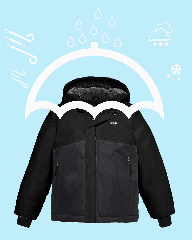 Amazon.com: Wantdo Spring - Chaqueta impermeable con capucha ...