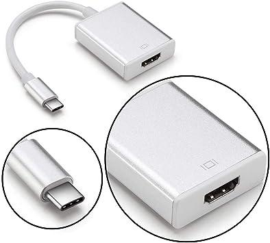 DALM - Adaptador HDMI con Conector USB Tipo C, Adaptador HDMI ...