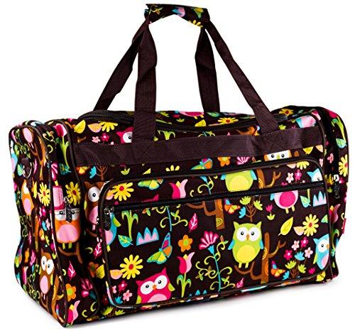n-gil-brown-multicolored-owls-duffle-bag-22-inch
