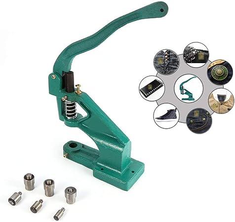 6/MM//10/mm//12/mm pression Punch Machine Outil de /Œillet /à main pour banni/ère Sign Sac 3/Die Grommet Punch Machine