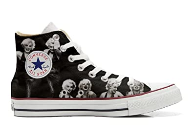Converse All Star Hi Customized Personalisiert Schuhe (Gedruckte Schuhe) Foto Marylin