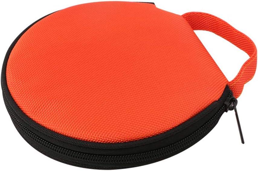 Tragbarer Cd Player Tasche 20 Kapazität Cd Dvd Aufbewahrungshülle Cd Organizer Auto Cd Speicher Tasche Für Die Aufbewahrung Von Reisen Aus Oxford Stoff Orange Auto