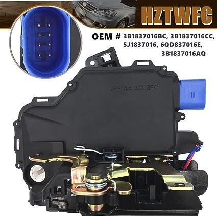 HZTWFC Actuador de Cerradura de Puerta 3B1837016BC - Delantero ...