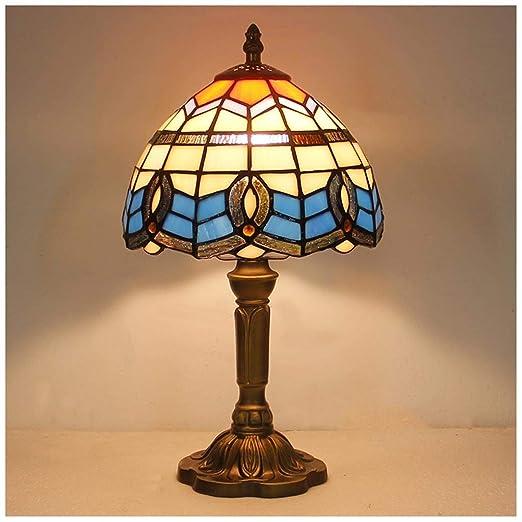Luz mediterránea europea creativa - Lámpara de mesa vintage ...