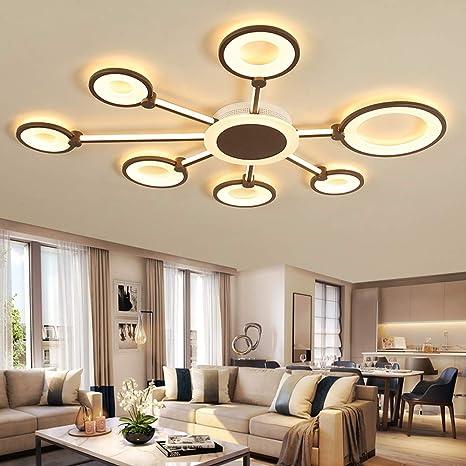 144W Moderno Diseño LED Lámpara de techo Lampara de salon ...