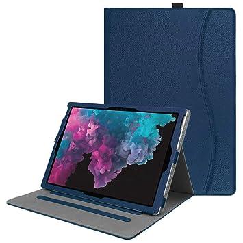 Fintie Funda para Microsoft Surface Microsoft Surface Pro 6 (2018) / Surface Pro 5 (2017) / Pro 4 / Pro 3 - [Multi-Ángulo] Folio Carcasa Plegable con ...