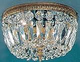 Cheap Crystal Baskets 2-Light Ceiling Flush (Chrome – Italian)