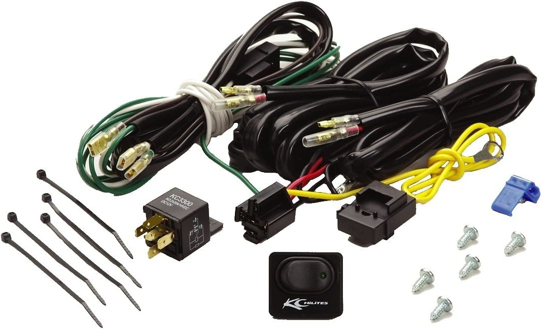 Amazon.com: KC HiLiTES 6315 Wiring Harness with 40 Amp Relay and LED Rocker  Switch: AutomotiveAmazon.com