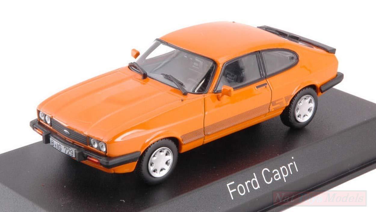 NOREV NV270563 Ford Capri S 1986 Orange 1 1 1 43 MODELLINO DIE CAST Model 800ae9