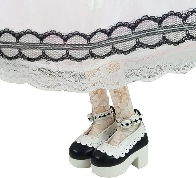 Kepae 39cm M/ädchenpuppe 1//4 BJD Dolls Puppe Ball Jointed Doll Full Set Puppen mit Zubeh/ör Vintage Dienstm/ädchen Puppenkleidung Mary Jane Schuhe mit Lange Per/ücke