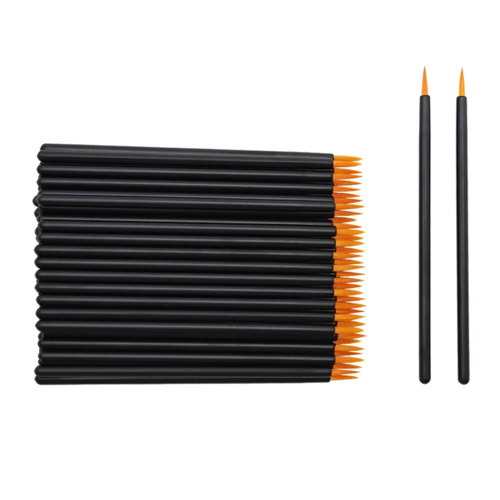 Eyeliner Applicators Wands Lip Liner Brushes Disposable Makeup Tool, 150 Pieces, with Cover Yisu