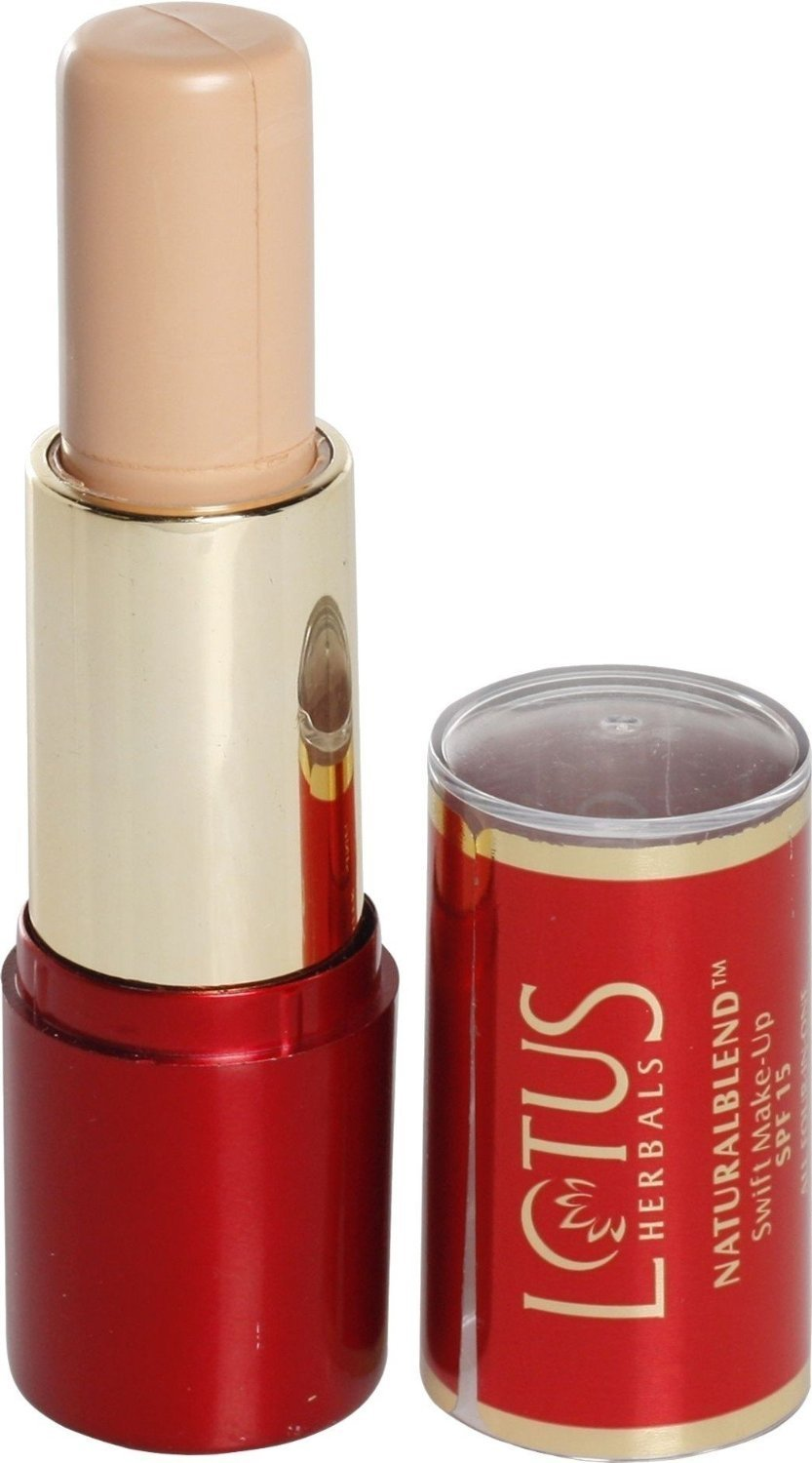Lotus Herbals NaturalBlend Swift Make-up Stick SPF 15, Honey Beige