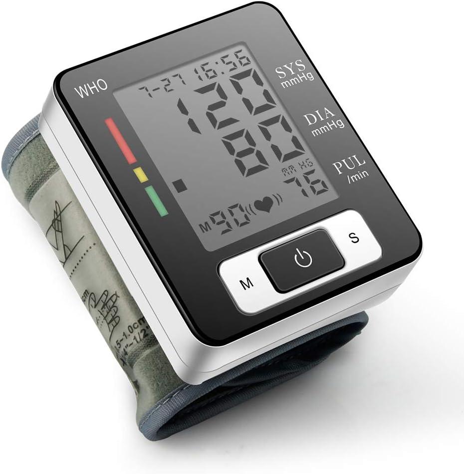 Tensiómetro de Brazo Digital, Validado Clínicamente Medida precisa, con Función de Memoria Automática, Apagado Automático Ahorro de Energía Dispositivo