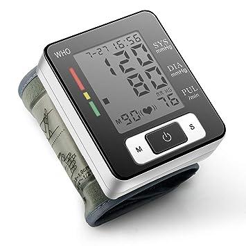 Tensiómetro de Brazo Digital, Validado Clínicamente Medida precisa, con Función de Memoria Automática,