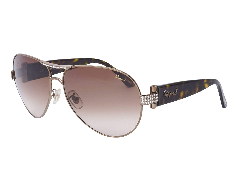 b3f26230212fb Amazon.com: Chopard Sch 866s Sunglasses Color 0r80 Size 62-14: Clothing