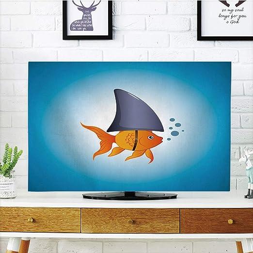 Funda para televisor LCD, diseño de tiburón, pez Martillo con ...