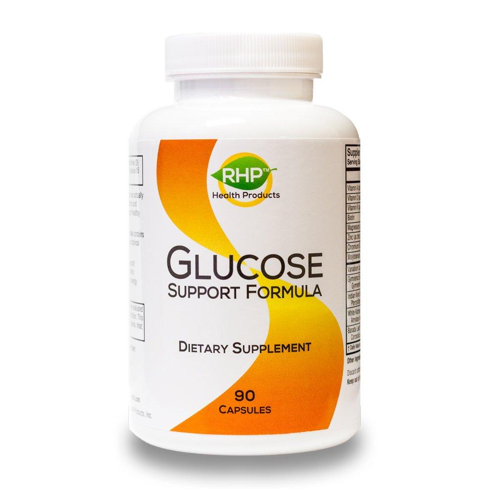 Amazon.com: Natural Azúcar en Sangre Apoyo Suplemento con ...