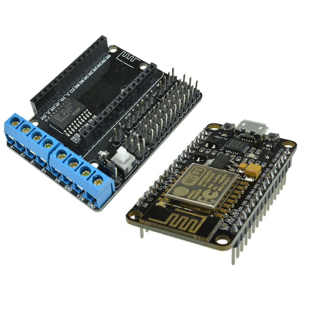 Diymore Nodemcu Lua Cp2102 Chip Wifi Based On Esp8266 Arduino Uno R3 Cmd Atmega328 Ch340g Module L293d Motor Driver Shield For Cell Phones Accessories