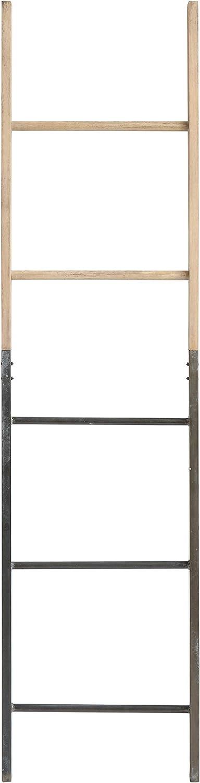 Creative Co-op DA8341-1 Decorative Metal & Wood Ladder