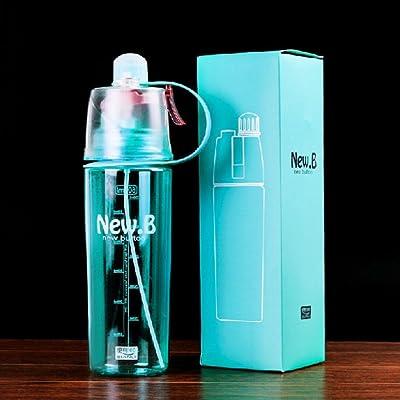 +ing Creative extérieur Spray Bouteille d'eau portable Grande capacité hydratant Bouteille d'eau Tasse