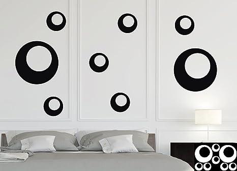 Kleb drauf 8 punti retrò sticker per la decorazione di pareti