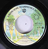 Manfred Mann's Earth Band 45 RPM Questions / Spirit In The Night