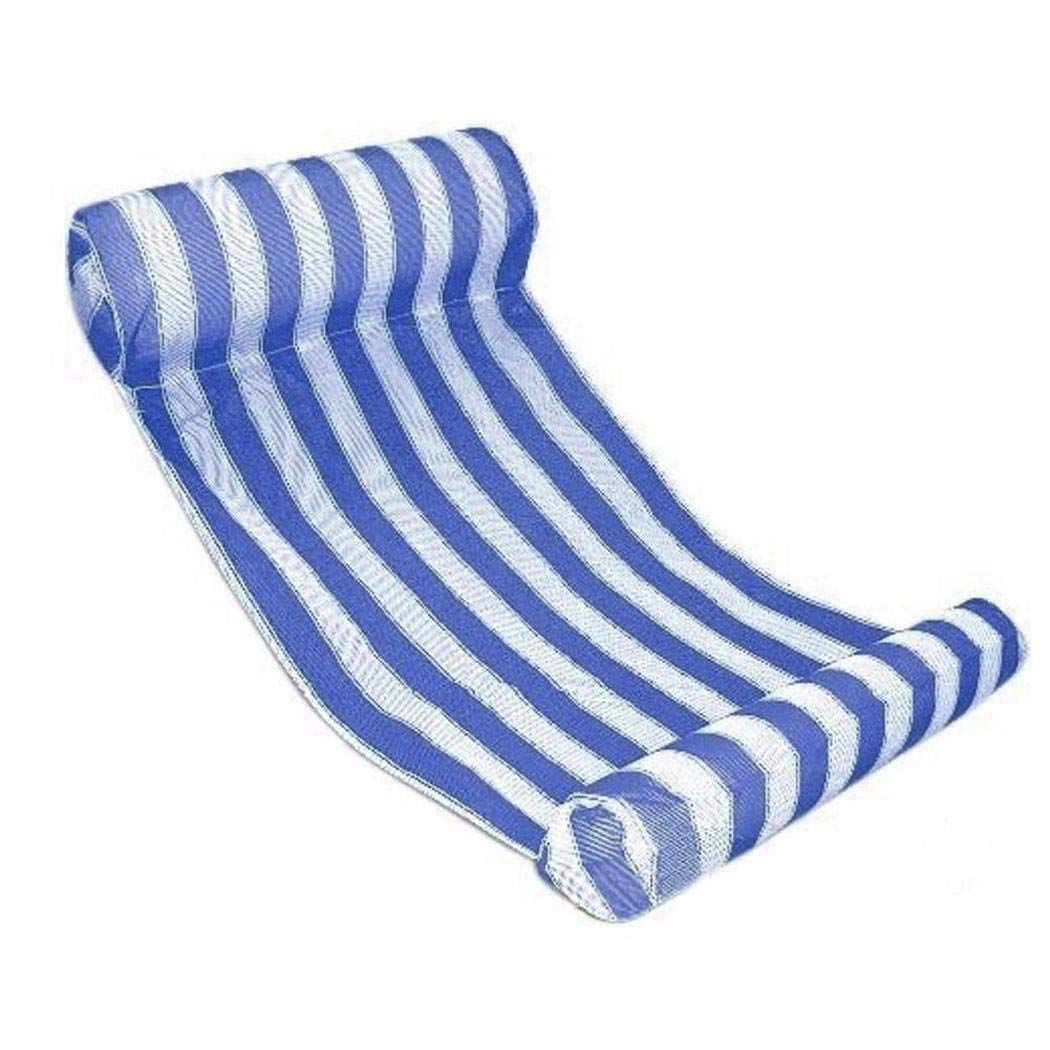 nurrat Swimming Pool Float Hammock Comfortable Inflatable Lounge Bed Throw Rings by nurrat
