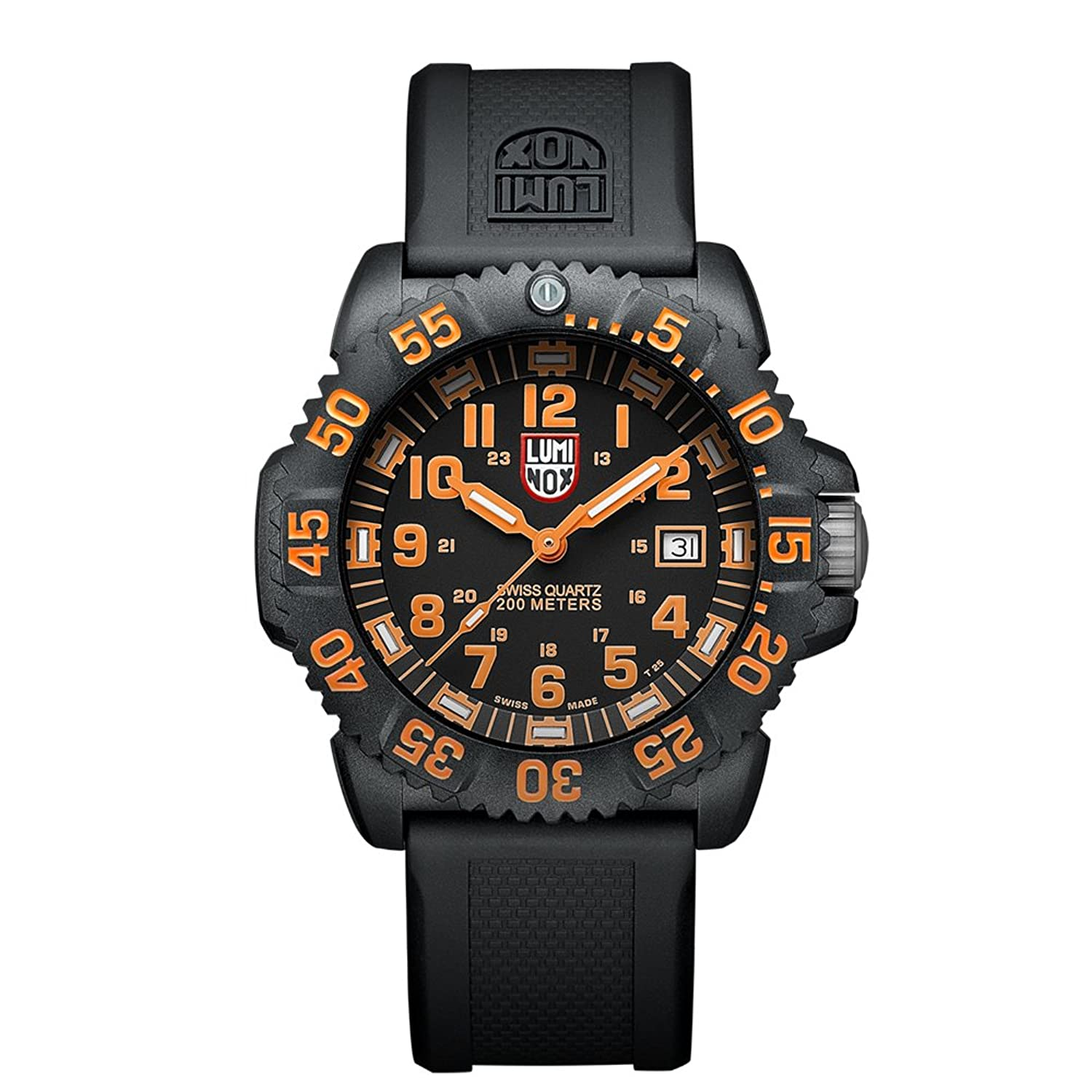 Luminox Navy SEAL Colormark Herren-Armbanduhr Analog Quarz Kautschuk - LU3059