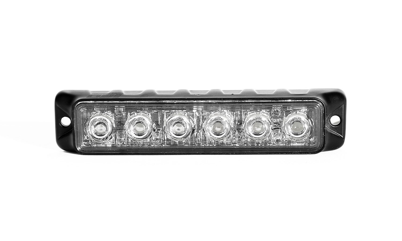 TIR 3 Watt 6 LED Emergency Vehicle Grill Warning Light Head Ledqusa A-1376088