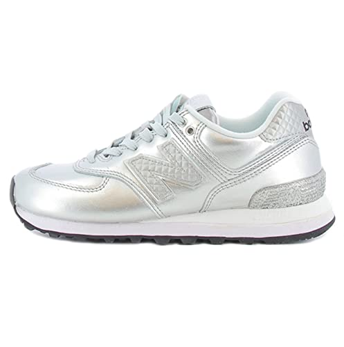 Scarpa 574 NRI New Balance colore argento per donna New Balance WL 574 NRIARGENT