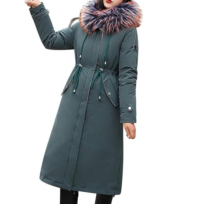SUXINNINI Cappotto di Lana da Donna Cappotti Lungo Invernali