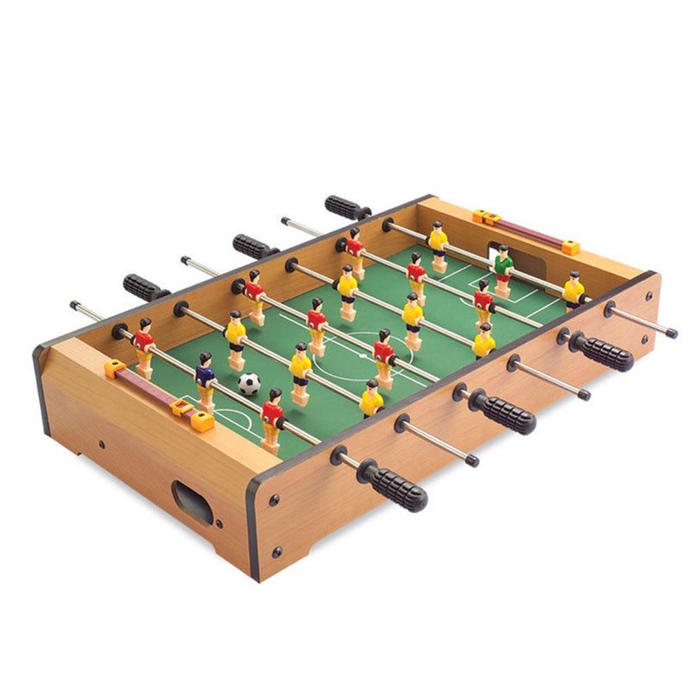 Sunneey Mini Tavolo da Biliardo Calcio Balilla, Calcio Balilla - Mini biliardino Portatile/Calcio per Adulti e Bambini